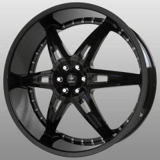 ALLUSION GLOSS BLACK RIM from VERDE WHEELS