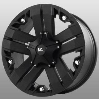 V-ROCK WHEELS  VR3 RECON MATTE BLACK RIM