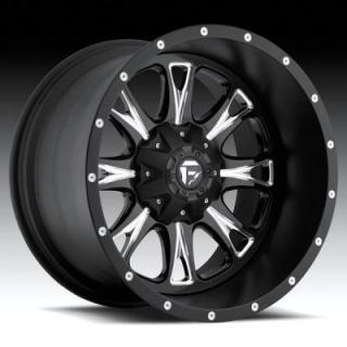 SPECIAL BUY WHEELS  FUEL OFFROAD D513 THROTTLE BLACK/MILLED-PPT