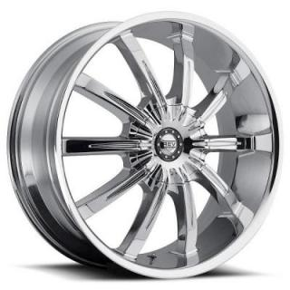 REV WHEELS  RWD 927 CHROME RIM