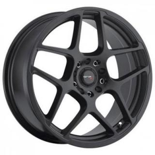 DRIFZ WHEELS  301BB MONOBLOCK SATIN BLACK RIM