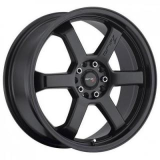 DRIFZ WHEELS  303B HOLE SHOT SATIN BLACK RIM