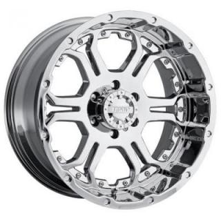 GEAR ALLOY WHEELS  715C RECOIL CHROME RIM