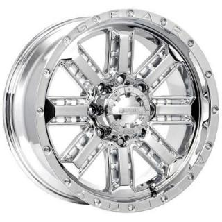 GEAR ALLOY WHEELS  723C NITRO CHROME RIM