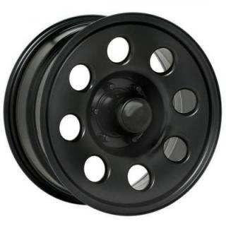PACER WHEELS  297B SOFT 8 BLACK RIM