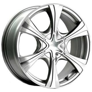 775MS HALLMARK SILVER RIM from PACER WHEELS