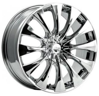 776C SILHOUETTE CHROME RIM by PACER WHEELS