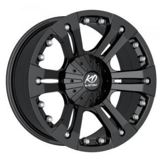 SPECIAL BUY WHEELS  REV WHEELS - OFFROAD AMERICANA 835 MATTE BLACK PPT