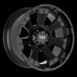 TUFF A.T. WHEELS  T06 SATIN BLACK