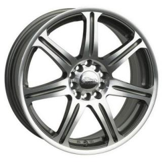 PRIMAX WHEELS  533 MACHINED/GUNMETAL RIM