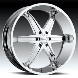 MILANNI WHEELS  KOOL WHIP-6 446 RWD CHROME RIM