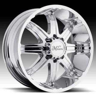 KOOL WHIP-8 446 RWD CHROME RIM from MILANNI WHEELS