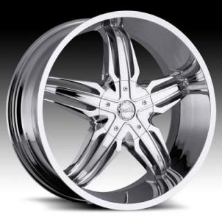 MILANNI WHEELS  PHOENIX 458 RWD CHROME RIM