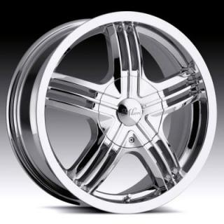 MILANNI WHEELS  STEALTH 461 FWD CHROME RIM