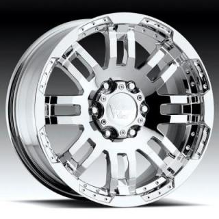 VISION WHEELS  WARRIOR 375 RWD CHROME RIM