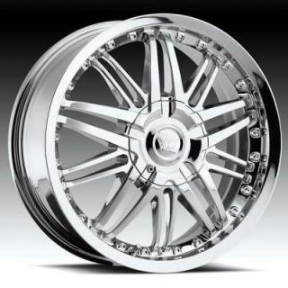 VISION WHEELS  AVENGER 381 FWD CHROME RIM