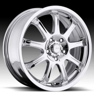 VISION WHEELS  9X 424 FWD CHROME RIM