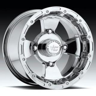 VISION WHEELS  BRUISER 161 ATV CHROME RIM