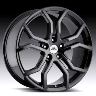 VISION WHEELS  HAVOC WB4 PHANTOM BLACK RIM