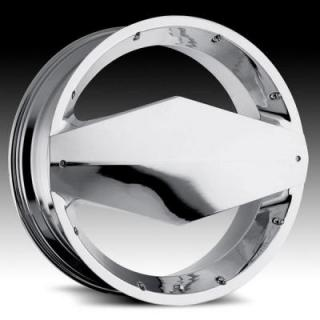 VISION WHEELS  MORGANA 449 RWD CHROME RIM