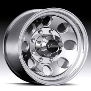 VISION WHEELS  SCORPION 171 RWD POLISHED RIM