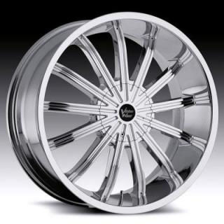 VISION WHEELS  XTACY 456 RWD CHROME RIM