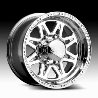 SPECIAL BUY WHEELS  RACELINE WHEELS 898 RENEGADE 8 CHROME PPT
