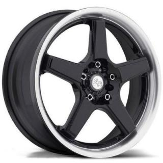 SPECIAL BUY WHEELS  NICHE NR5 M120 BLACK/MACHINED PPT