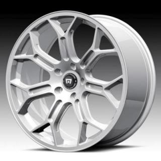 SPECIAL BUY WHEELS  MOTEGI RACING - MR120 SILVER RIM PPT