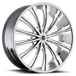 CORONA CHROME RIM from STRADA WHEELS