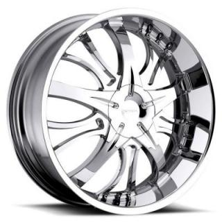 STRADA WHEELS  BREZZA CHROME RIM