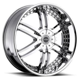 STRADA WHEELS  DENARO CHROME RIM