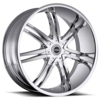 STRADA WHEELS  DIABLO CHROME RIM