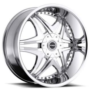 STRADA WHEELS  DOLCE CHROME RIM