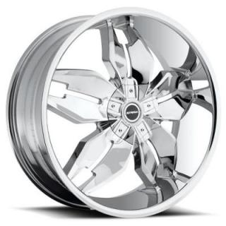 STRADA WHEELS  FORCHETTA CHROME RIM