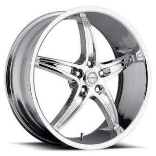STRADA WHEELS  RIGA CHROME RIM
