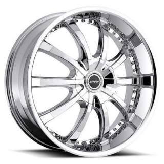 STRADA WHEELS  SOLE CHROME RIM