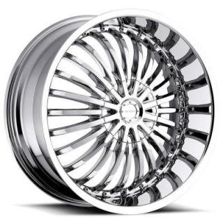 STRADA WHEELS  SPINA CHROME RIM