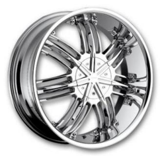 STRADA WHEELS  STREGA CHROME RIM