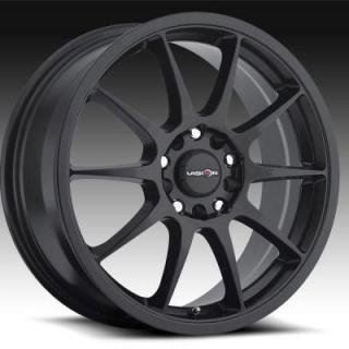 SPECIAL BUY WHEELS  VISION VENOM 425 FWD MATTE BLACK RIM PPT