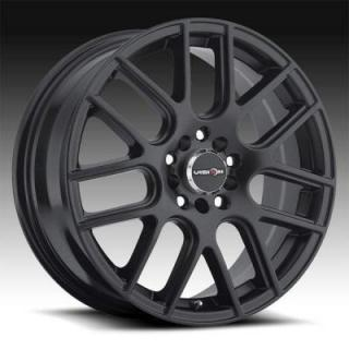 SPECIAL BUY WHEELS  VISION WHEELS - CROSS 426 FWD GUN METAL RIM PPT
