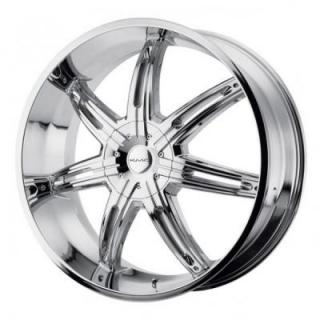 SPECIAL BUY WHEELS  KMC WHEELS - KM665 SURGE CHROME RIM PPT