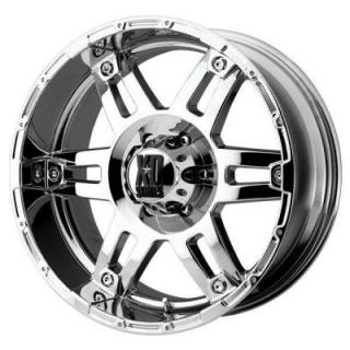 SPECIAL BUY WHEELS  XD SERIES WHEEL - XD797 SPY CHROME RIM PPT