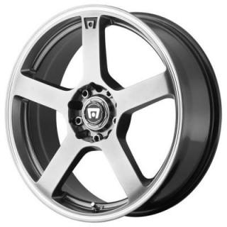 MR116 SILVER RIM from MOTEGI RACING WHEELS