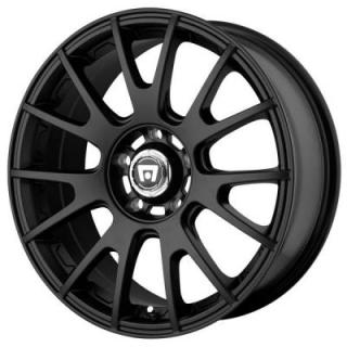 MR118 MATTE BLACK RIM from MOTEGI RACING WHEELS
