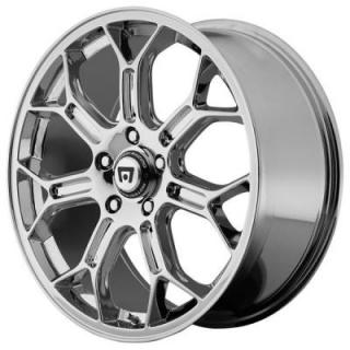 MR120 CHROME RIM by MOTEGI RACING WHEELS