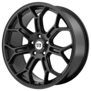 MR120 SATIN BLACK RIM from MOTEGI RACING WHEELS