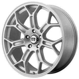 MOTEGI RACING WHEELS  MR120 SILVER RIM