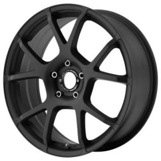MR121 SATIN BLACK RIM from MOTEGI RACING WHEELS