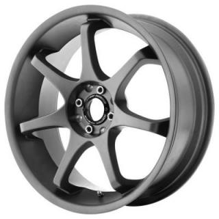 MR125 TITANIUM GRAY RIM from MOTEGI RACING WHEELS
